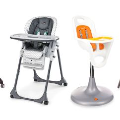 Chair Attached Table White Covers Canada Baby Eating To