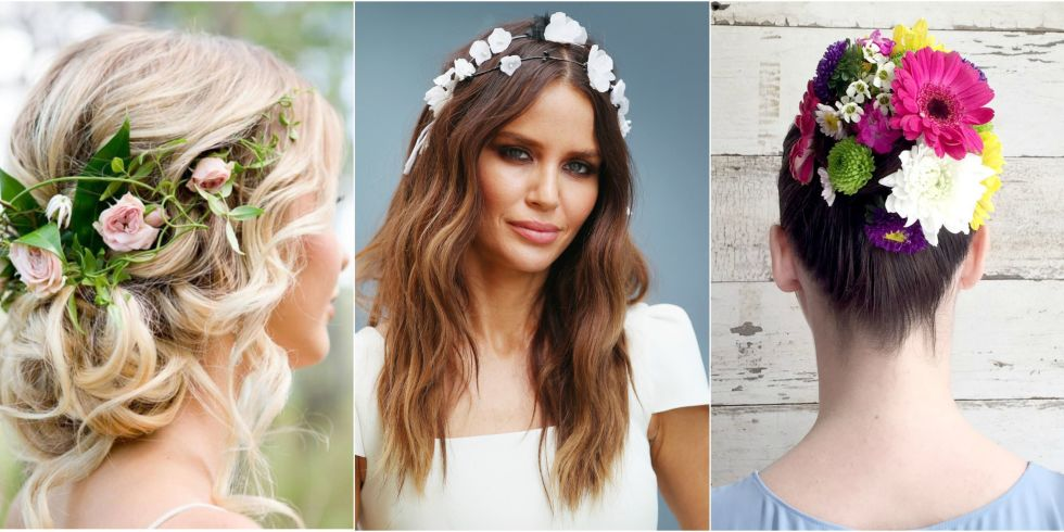 12 Pretty Flower Crowns And Floral Hairstyles — Flower Hairstyles