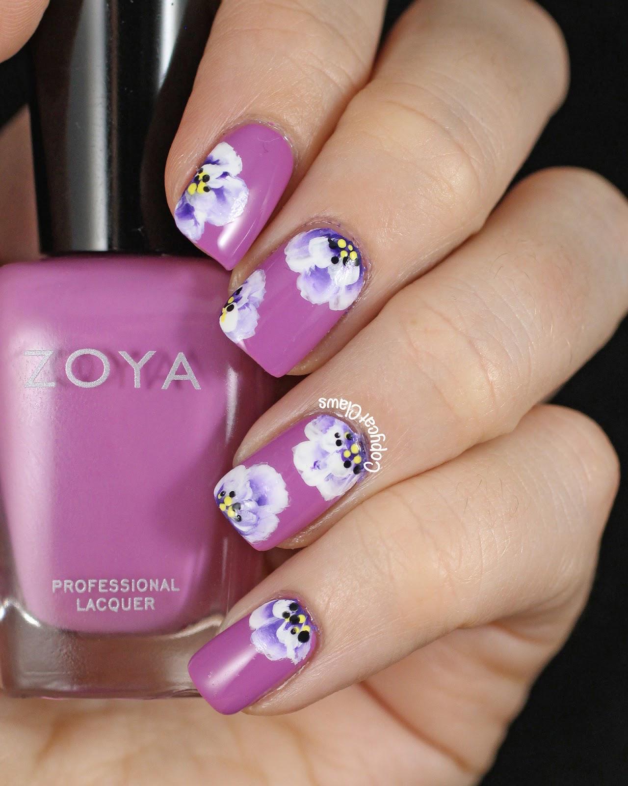 20 Flower Nail Art Ideas