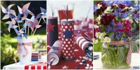 30+ DIY 4th of July Decorations 2017 - Patriotic Fourth of ...