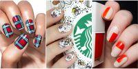 21 Thanksgiving Nail Art Designs - Ideas for November Nails