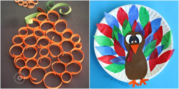 Kids Thanksgiving Craft Ideas