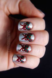 festive christmas nail art ideas