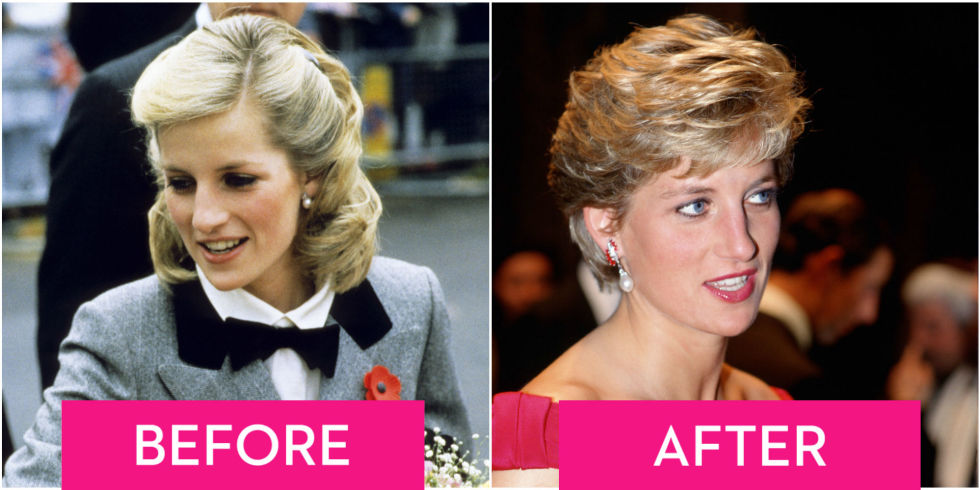 Princess Diana's Hair Though The Year Diana Princess Of Wales Style