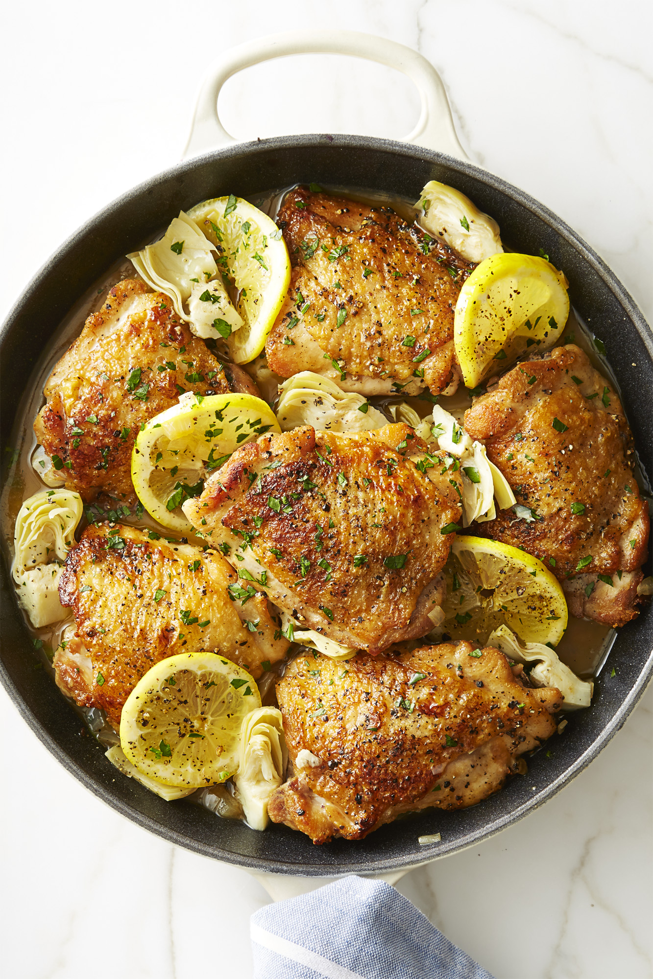 pinterest decorating ideas for living room bookcases built in best skillet lemon chicken with artichokes recipe - how to ...