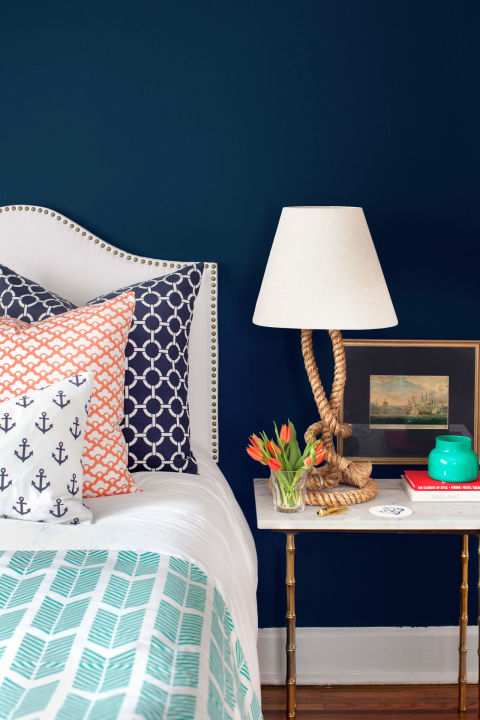 "It's tempting to buy the ""bed in a bag,"" but nothing is more mind-numbing and impersonal than having everything in a room match. Rooms with a variety of colors and patterns have the most personality."