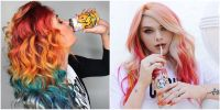 People Are Dyeing Their Hair to Matching the Colors of ...