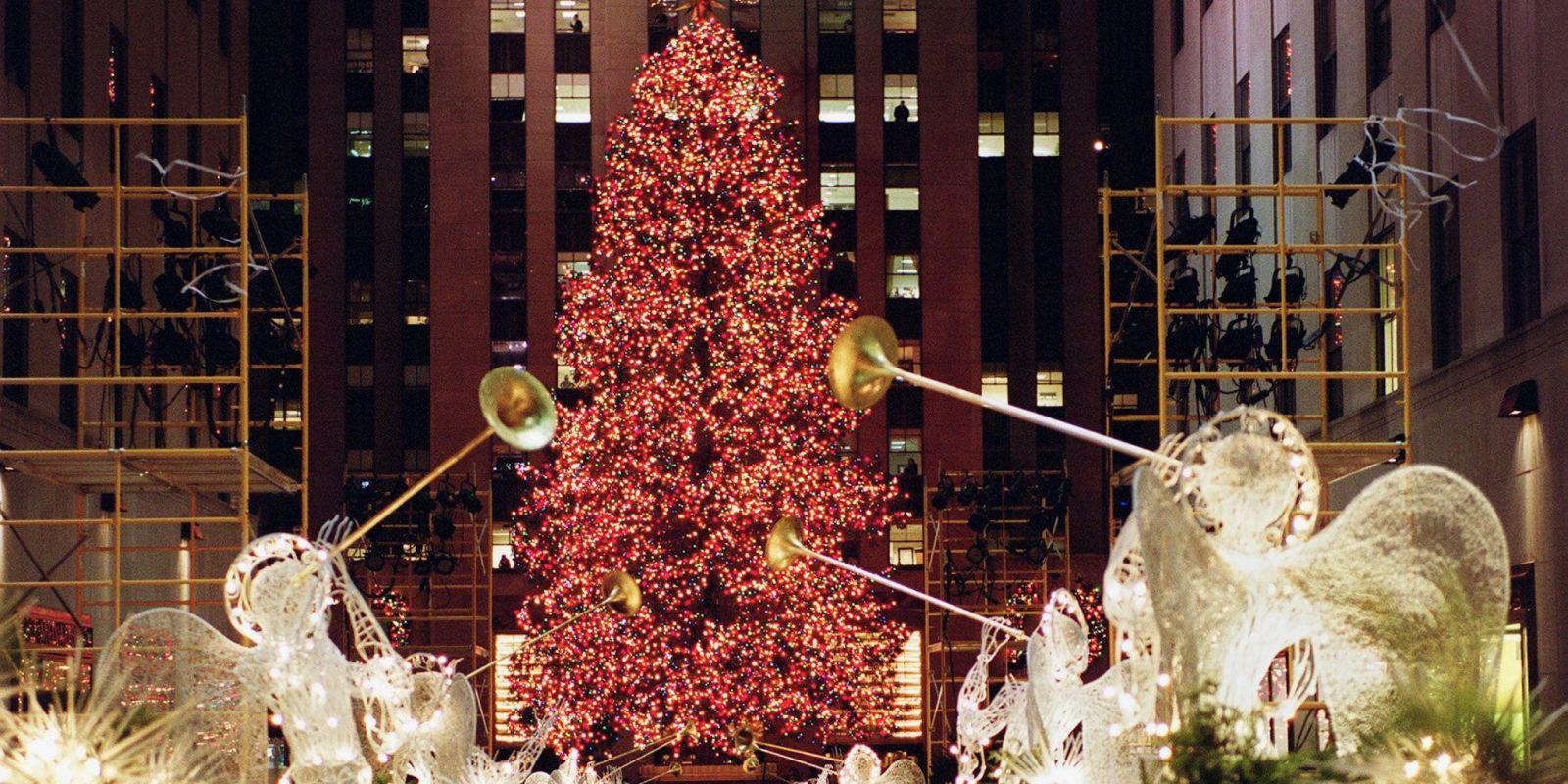 Rockefeller Center Christmas Tree Photos Through The Years