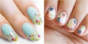 flower nail art design ideas