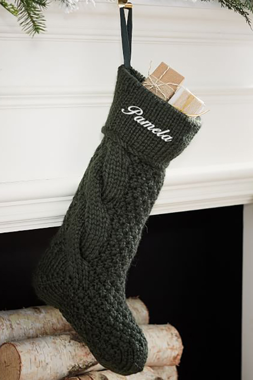20 Personalized Christmas Stockings  Embroidered and