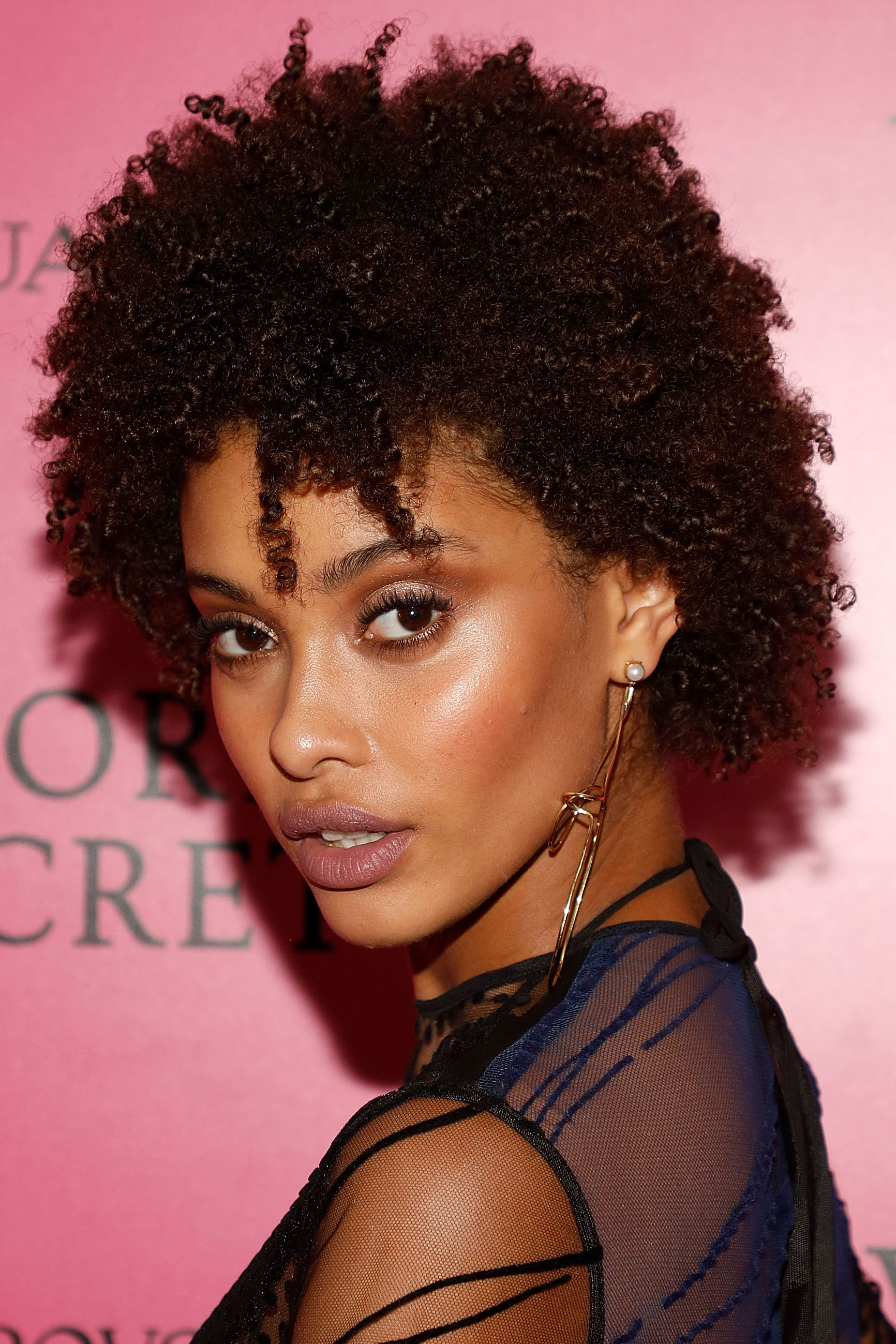 25 Easy Natural Hairstyles for Black Women  Ideas for Short Medium Length and Long Natural Hair