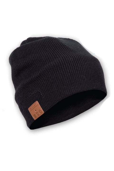 $25 BUY NOW He can jam out even in the cold with this beanie, which uses Bluetooth to connect to his smartphone or music streaming device.