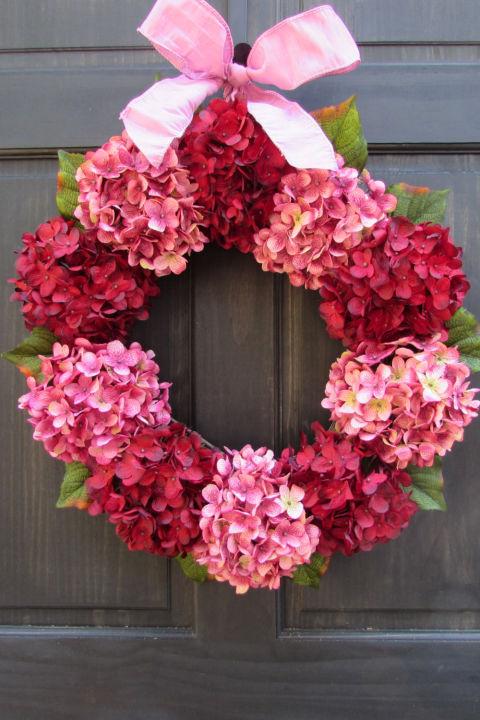30 DIY Valentines Day Wreaths Homemade Door Decorations