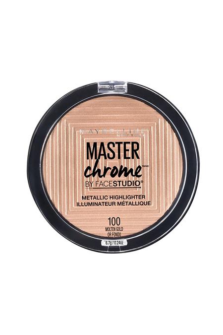 maybelline facestudio master chrome metallic highlighter