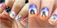 10 Olympic Nail Art Ideas That Deserve a Gold Medal - 2018 ...