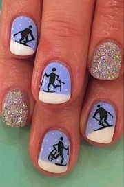 olympic nail art ideas