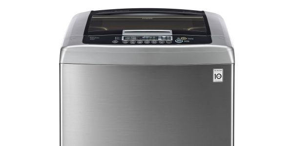 Lg 4.5 Cu. Ft. Ultra Large Capacity Top Load Washer With Front Control Design And Waveforce