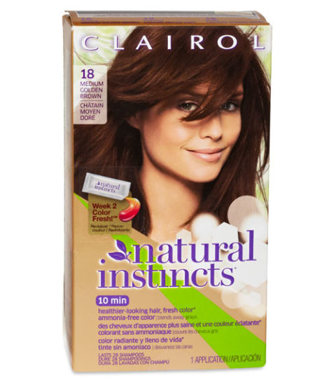 Clairol Light Brown Hair Color