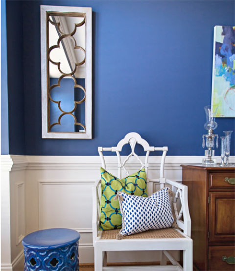 How to Decorate with Blue  Decorating with Bold Colors