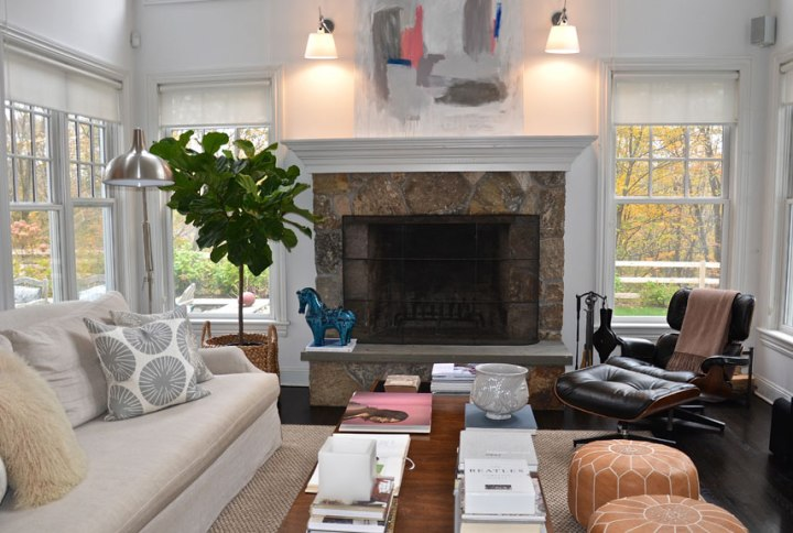 Fascinating White Neutrals Living Room