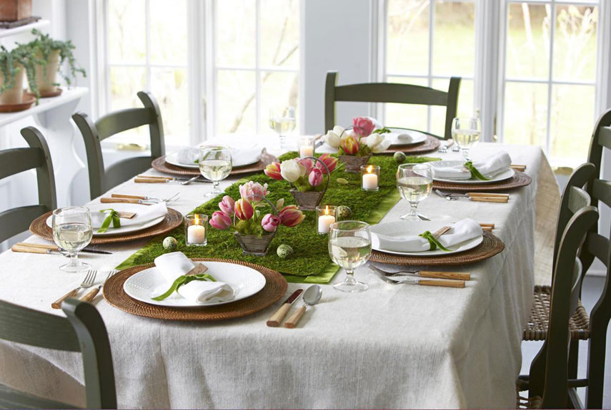 56 Easter Decor Ideas  Easter Table Runners and Decorations