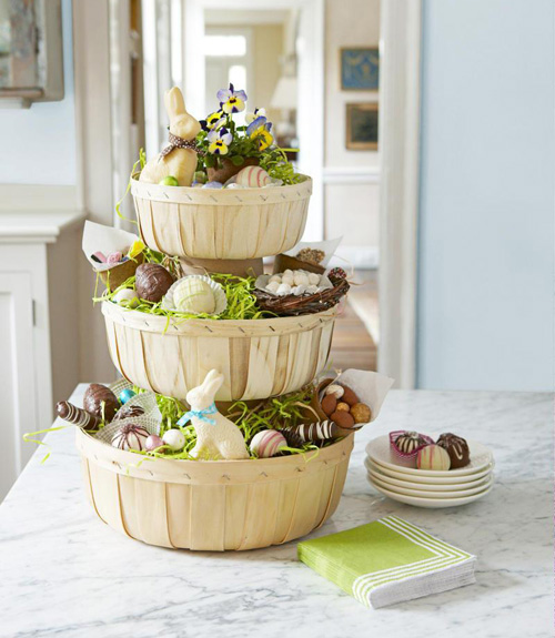 35 DIY Easter Basket Ideas Unique Homemade Easter