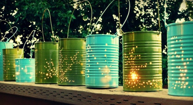 DIY Outdoor Lighting Outdoor Entertaining Ideas