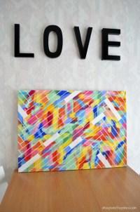 Diy Art Projects Canvas | www.pixshark.com - Images ...