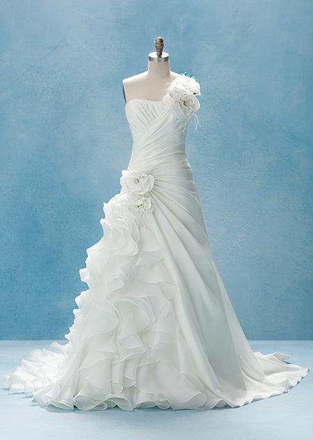 Disney Princess Wedding Gowns Wedding Dresses Inspired