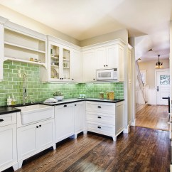 Green Kitchen Backsplash Remodel Los Angeles 10 Color Ideas We Love Colorful Kitchens