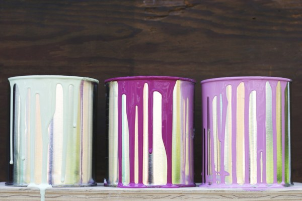 Leftover Paint Storage Containers