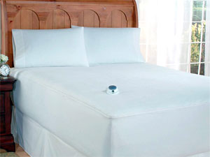 Soft Heat Plush Velour Mattress Pad