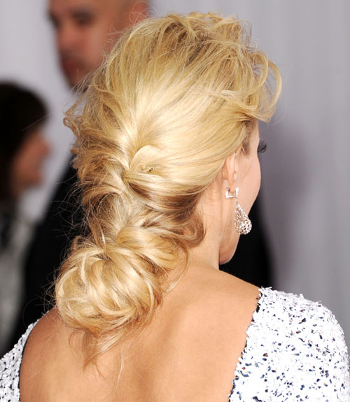 45 Updos Inspired By Celebrities Easy Updo Hairstyles