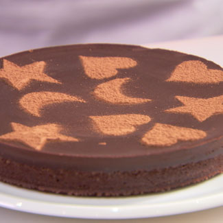 How To Stencil A Cake Cake Decorating Ideas