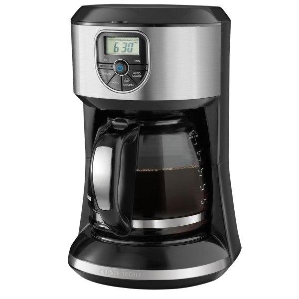 Black & Decker 12-cup Programmable Coffee Maker #cm4000s