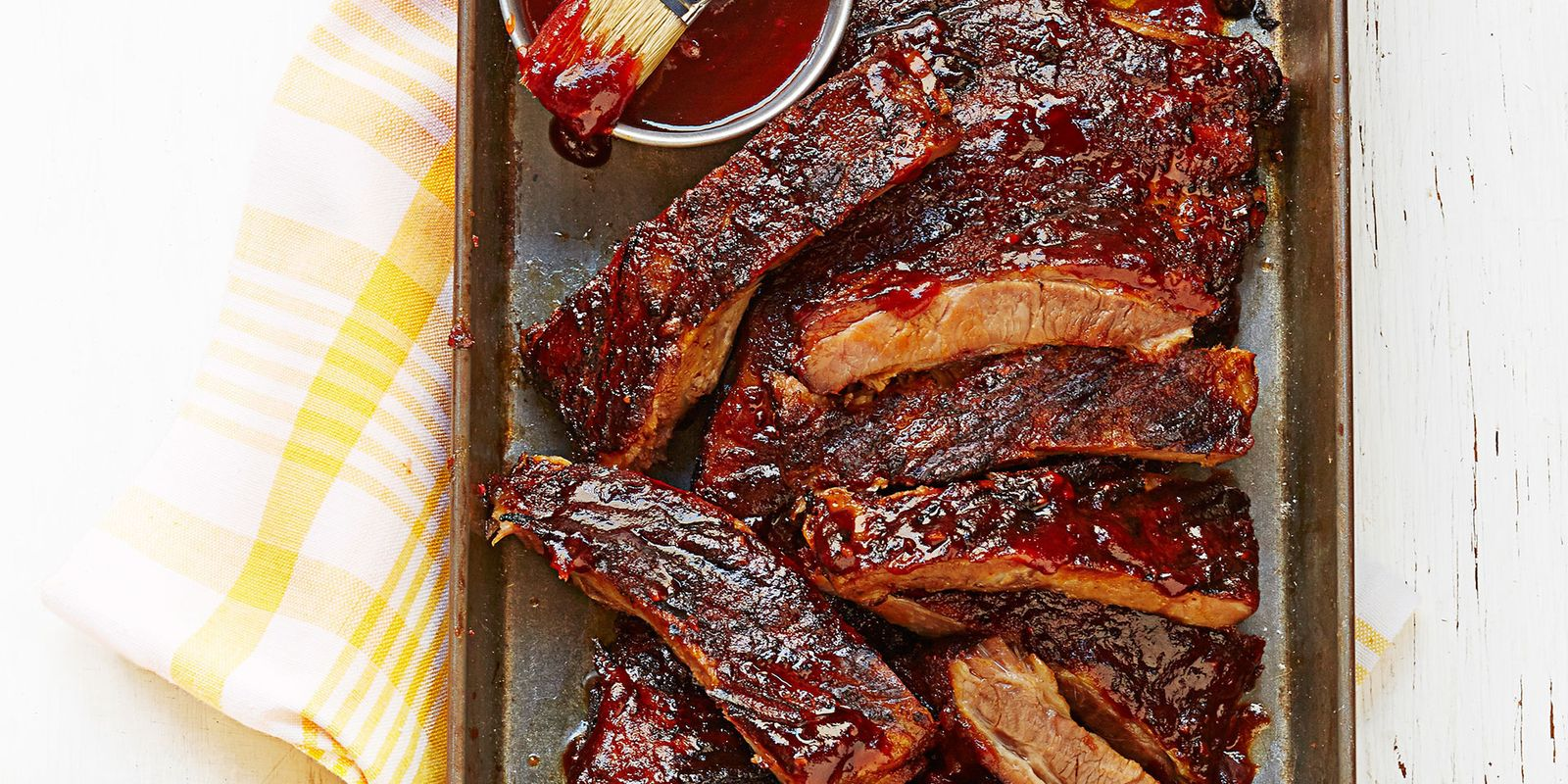 Guys St Louis Ribs With Tequila BBQ Sauce Recipe