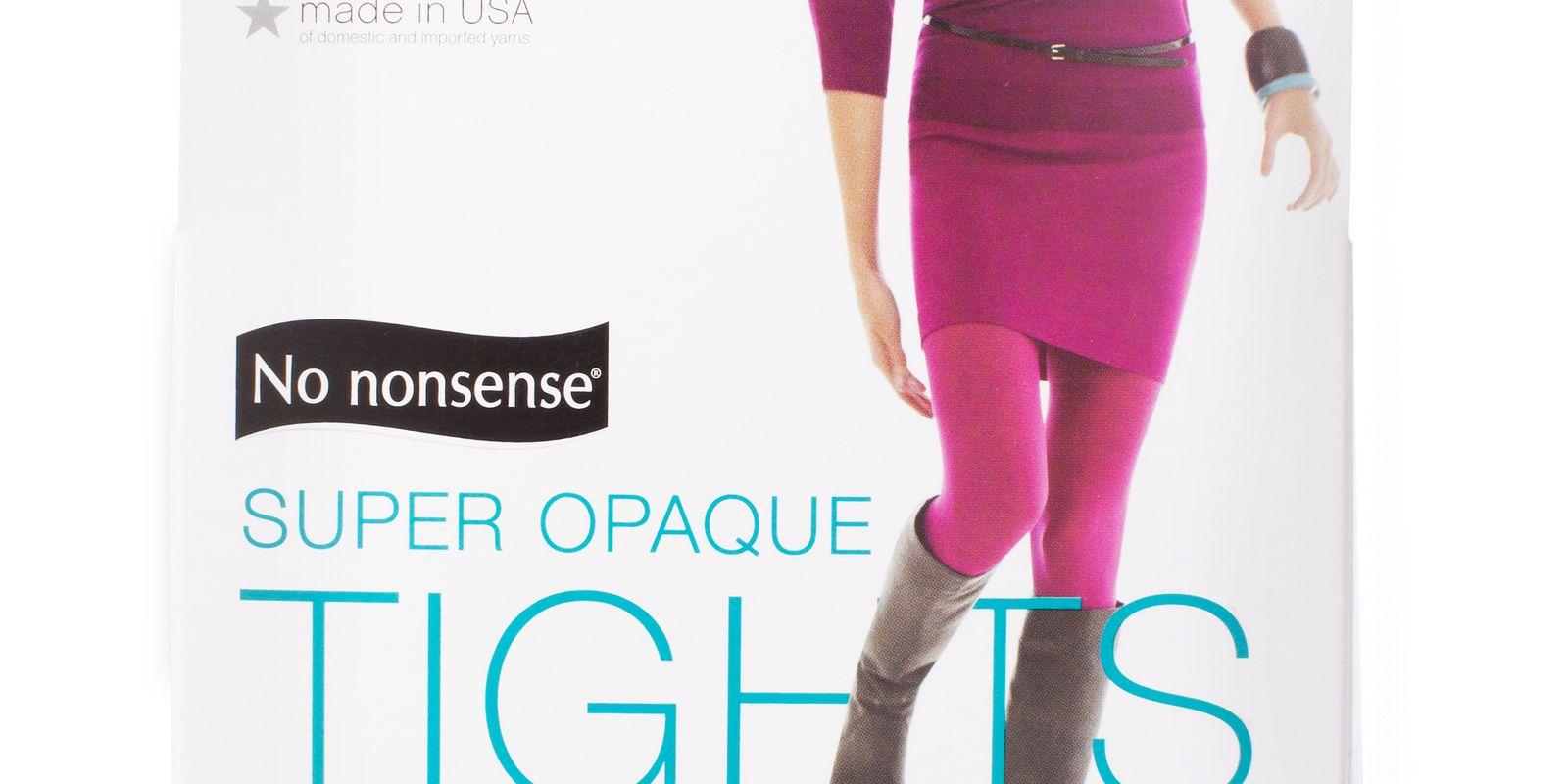 No Nonsense Super Opaque Control Top Tight NN1459 Review