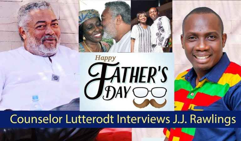 Counsellor Lutterodt interview JJ Rawlings, talking about irresponsible fatherhood in Ghana