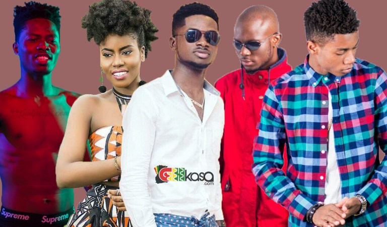 Real names of some new artistes in Ghana you don't know