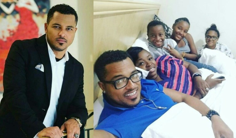 Video: Van Vicker sacked to sleep outside his house