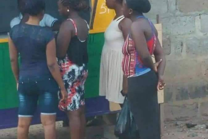 Lottery, the new craze for Kumasi women!!!