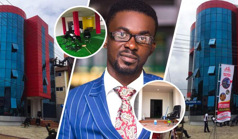 MONEY IS TALKING! NAM1 Sets Up Zylofon Properties Office Within 12 Hours