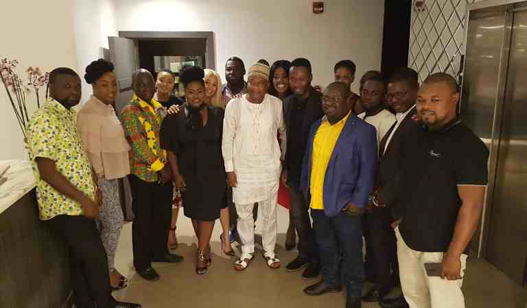 AMVCA Winners & MTF Students Dine With MultiChoice Gh & Ministry