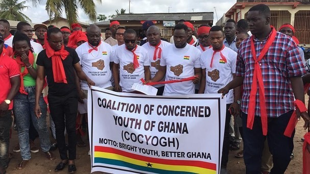 #IstandWithMenzgold: Youth demonstrates against Menzgold shutdown