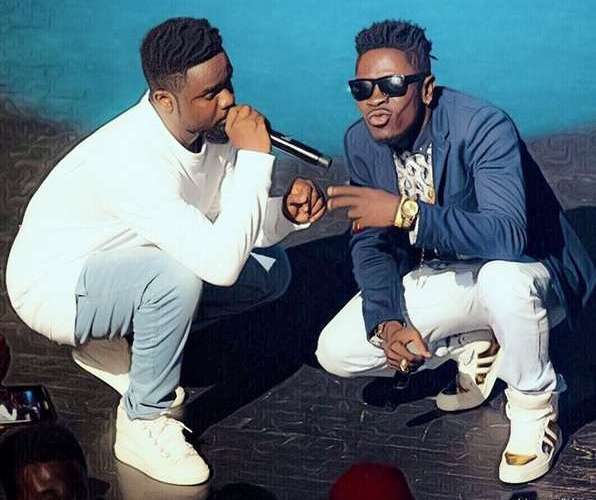Image result for Shatta Wale calls Sarkodie