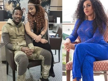 Asamoah Gyan, Gifty Gyan and Nina Atala