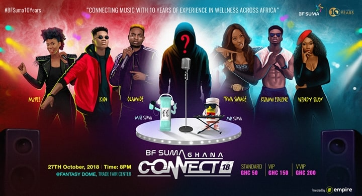 #BFSuma10Years: Africa's Best ready for BF Suma GHANA CONNECT 2018