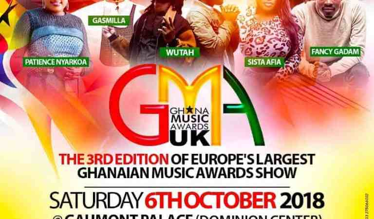GH Allstar artistes ready for Ghana Music Awards UK 2018 event