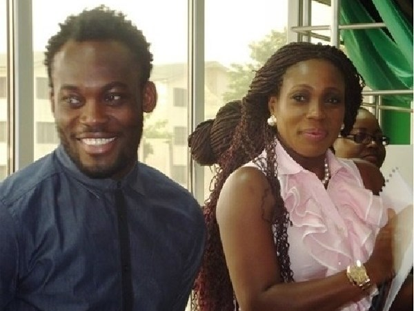 ANOTHER SCANDAL: Michael Essien's Wife Packs Out Of His House After Princess Shyngle Revealed Their 'Sexpisodes'