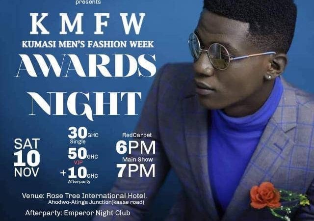 The men's Fashion week and Awards Night to hit Kumasi this November